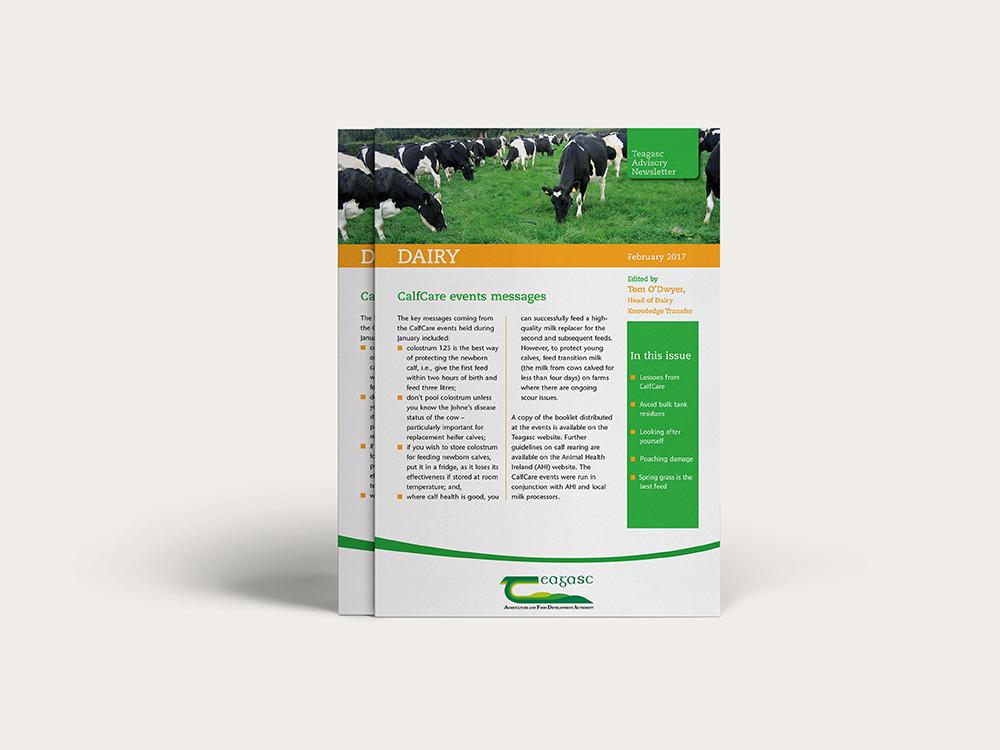 Think Media - Teagasc Advisory Newsletters - Dairy